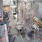 Casa de Força_Un2 pilar central camada 10 concretando