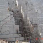 muro direito armação